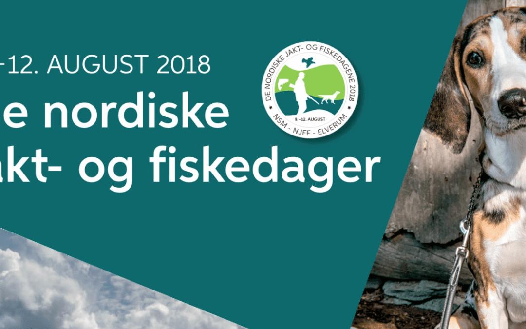 De Nordiske Jakt- og Fiskedager 2018
