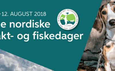 NDF med stand på De nordiske jakt- og fiskedager 2018